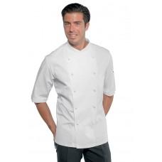 Giacca Cuoco Panama Cod. 058209M - Bianco