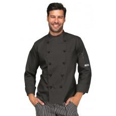 Giacca Cuoco Panama Cod. 058201 - Nero