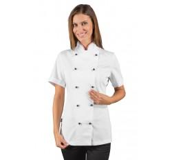 Giacca Lady Chef Bottoni Antipanico Cod. 057510M - Bianco+Italy