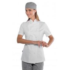 Giacca Lady Chef Bottoni Antipanico Cod. 057500M - Bianco