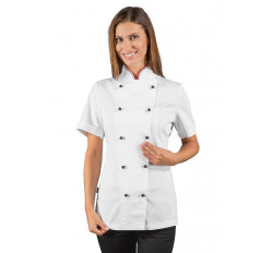 Giacca Lady Chef - Cod. 057510M - Bianco+Italy