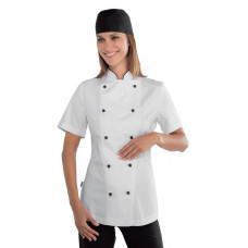 Giacca Lady Chef - Cod. 057511M - Bianco+Nero