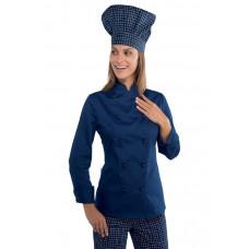 Giacca Lady Chef - Cod. 057502 - Blu