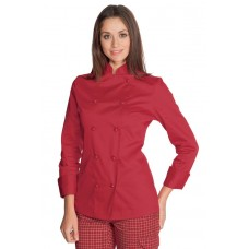 Giacca Lady Chef - Cod. 057507 - Rosso