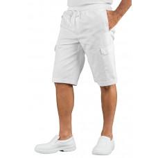 Pantacargo Short Con Elastico - Cod. 044110S - Bianco