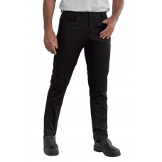 Pantalone Yale Slim Cod. 064579 - Nero