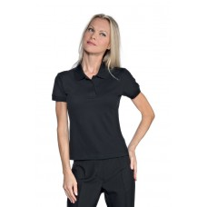 Polo Donna Stretch Cod. 125101 - Nero