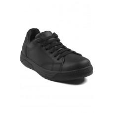 Scarpa Sneaker Con Puntale Microfibra Comfort Unisex Cod. 112801P - Nero